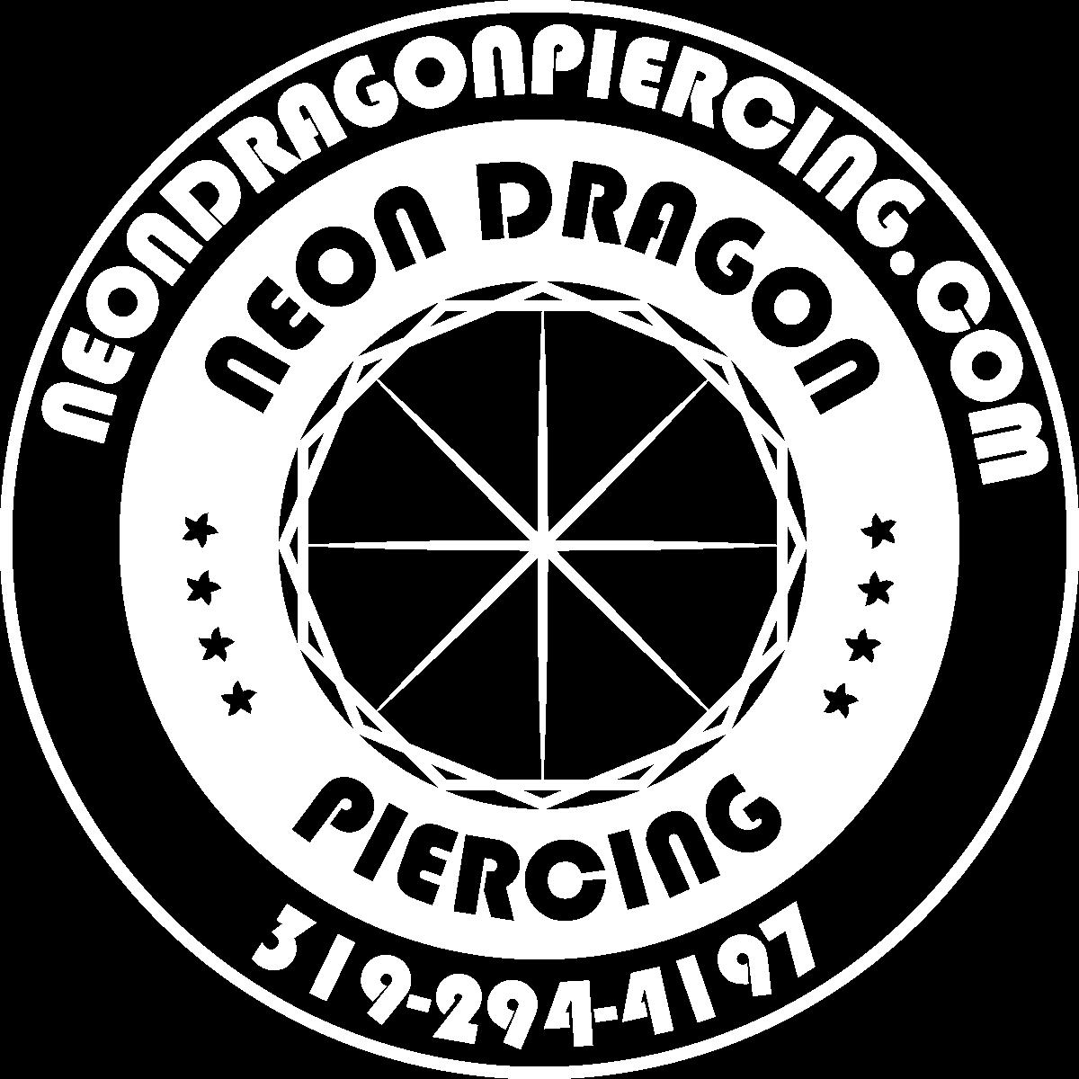 Logo for Neon Dragon Piercing